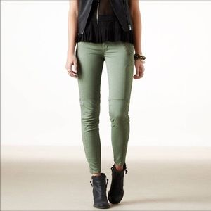 American Eagle Moto Ankle Pants